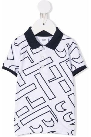 BOSS Kidswear Polo Shirts - Logo-print polo shirt