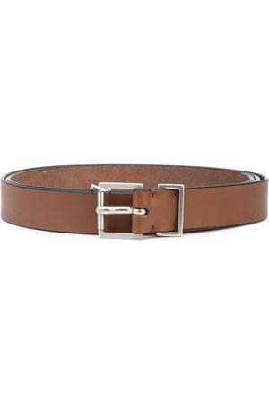 Maison Margiela Men Belts - Single-stich leather belt