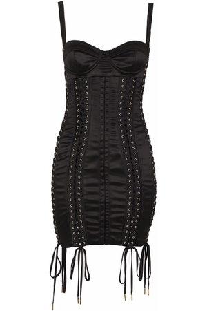 Dolce & Gabbana Women Sleeveless Dresses - Lace-up sleeveless dress