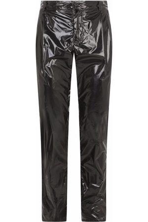Dolce & Gabbana Men Skinny Pants - High-shine slim-fit trousers