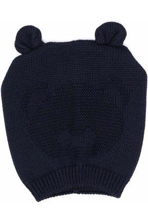 Little Bear Bear-ears embroidered beanie