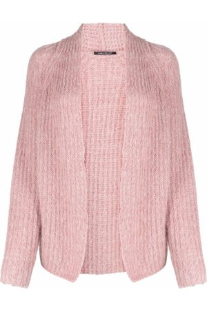 Luisa Cerano Chunky-knit wool-blend cardigan