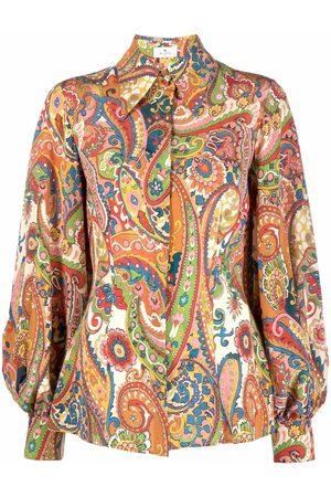 Etro Women Tote Bags - Paisley puff-sleeve tote bag - 990