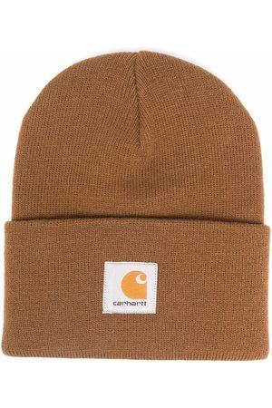 Carhartt WIP Men Beanies - Logo-patch knitted beanie