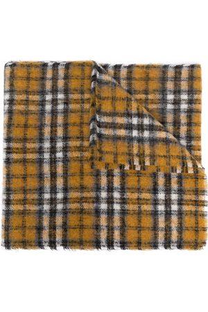 Maje Plaid woolen scarf