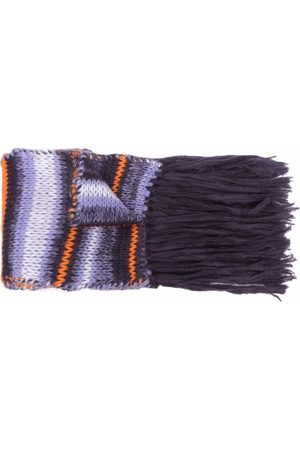 Maje Women Scarves - Striped knitted scarf