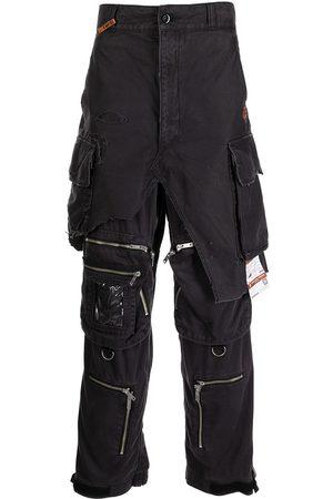 Maison Mihara Yasuhiro Distressed cargo trousers