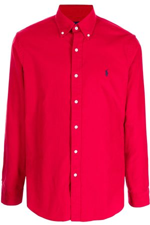 Polo Ralph Lauren Men Long sleeves - Embroidered Pony long-sleeve shirt