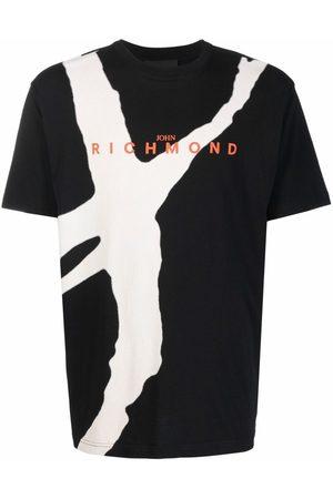 John Richmond Men Short Sleeve - Logo-print short-sleeved T-shirt