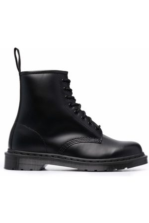 Dr. Martens Mono smooth-leather ankle boots