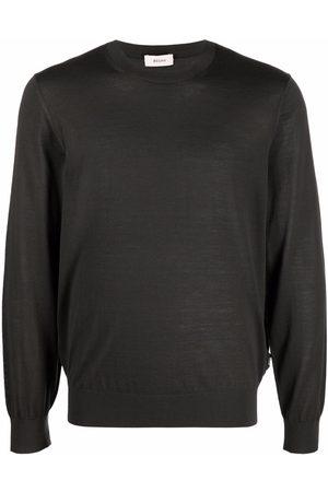 Z Zegna Men Sweatshirts - Round neck wool jumper