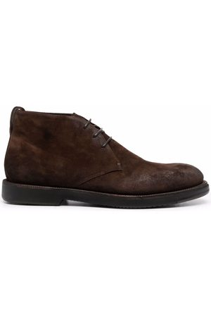 Silvano Sassetti Men Lace-up Boots - Velour lace-up boots
