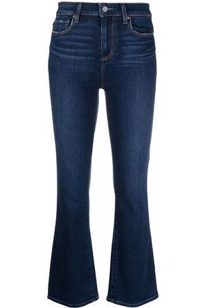 PAIGE Slim-cut flared jeans