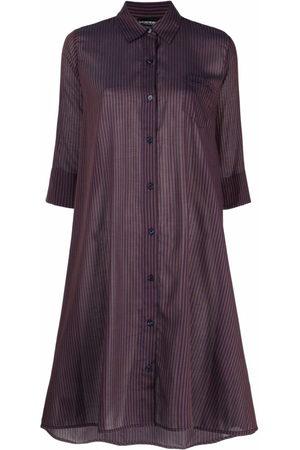 Emporio Armani Striped beah dress