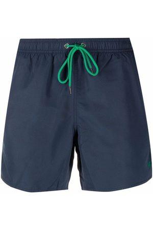 Emporio Armani Logo-print swim shorts