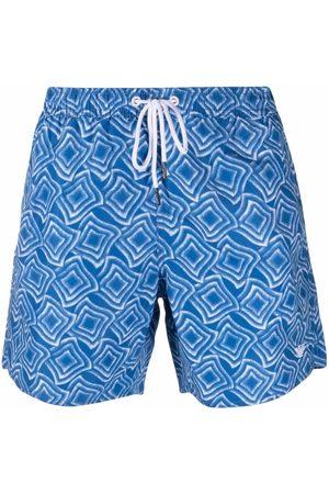 Emporio Armani All-over print swim shorts