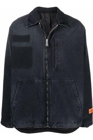 Heron Preston Zip-fastening denim jacket
