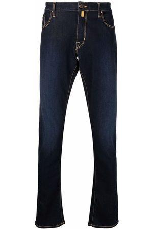 Jacob Cohen Contrast-stitch straight-leg jeans