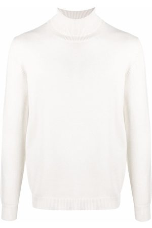 Roberto Collina Roll-neck merino wool jumper - Neutrals