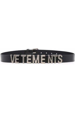 Vetements Logo-lettering belt