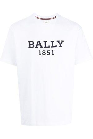 Bally Men T-shirts - Logo-print cotton T-shirt