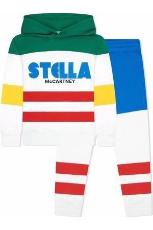 Stella McCartney Kids Boys Tracksuits - Colour-block tracksuit set