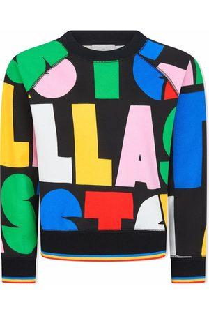 Stella McCartney Kids All over logo-print sweatshirt