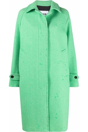 Msgm Single-breasted trench coat