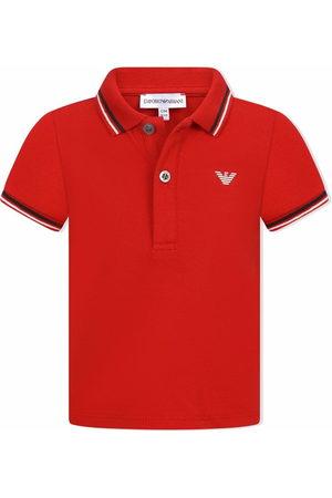 Emporio Armani Eagle logo polo shirt