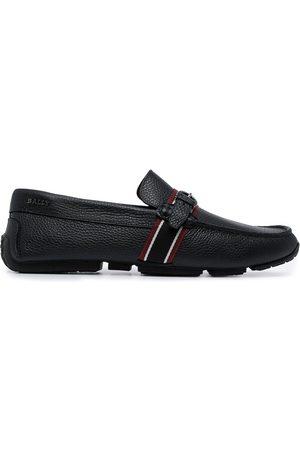 Bally Men Loafers - Logo slip-on loafers