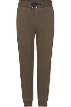 HUGO BOSS Boys Sweatpants - Logo-print track trousers