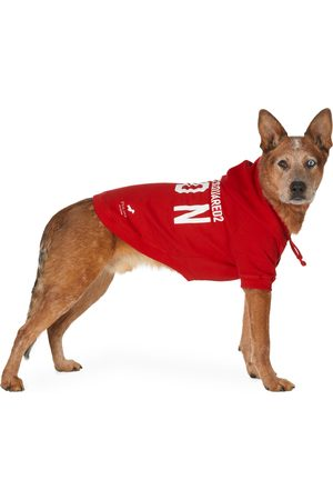 Dsquared2 Hoodies - Red Poldo Dog Couture Edition Icon Ottawa Hoodie