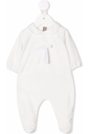 LITTLE BEAR Cotton Peter Pan collar pajamas