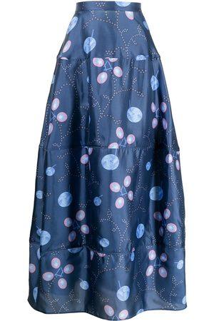 Armani Women Printed Skirts - GA graphic-print skirt