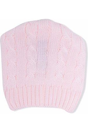 LITTLE BEAR Cable knit beanie