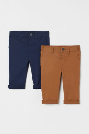 H & M 2-pack cotton chinos