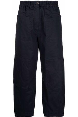 PS Paul Smith Women Wide Leg Pants - Cropped wide-leg trousers