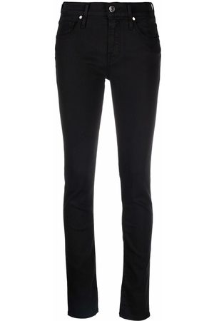 Jacob Cohen Embroidered-logo skinny jeans