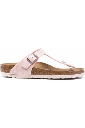 Birkenstock Women Sandals - Gizeh leather sandals