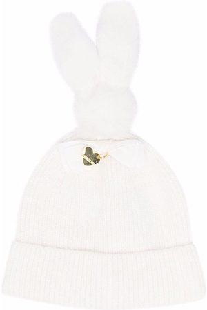 Monnalisa Bunny-ears beanie hat