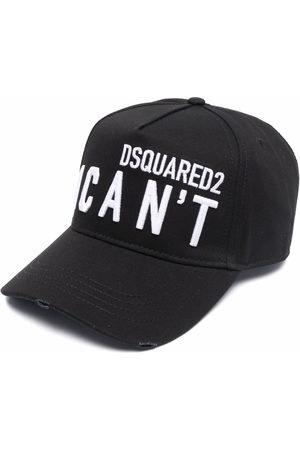 Dsquared2 Men Caps - I Can't slogan cap