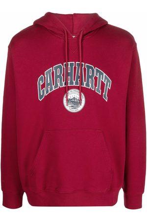 Carhartt Men Hoodies - Logo-print cotton hoodie