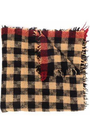 Faliero Sarti Check print scarf