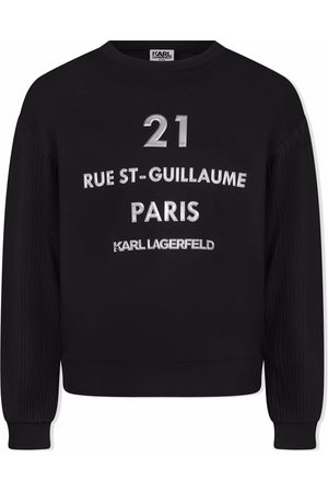 Karl Lagerfeld TEEN Rue St-Guillaume sweatshirt