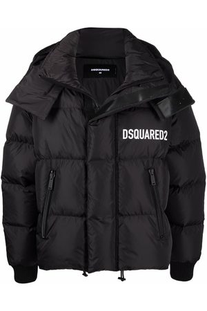 Dsquared2 Logo-print feather-down padded jacket