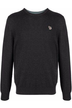 Paul Smith Logo crew-neck sweatshirt - Grey