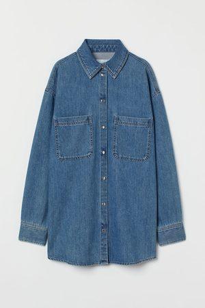 H & M Denim Shirt Jacket
