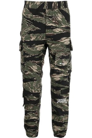AAPE BY *A BATHING APE® Camouflage-print trousers