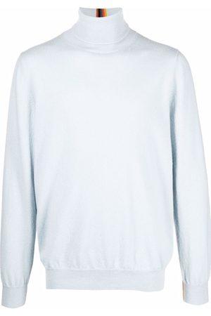 Paul Smith Men Turtlenecks - Roll-neck cashmere jumper