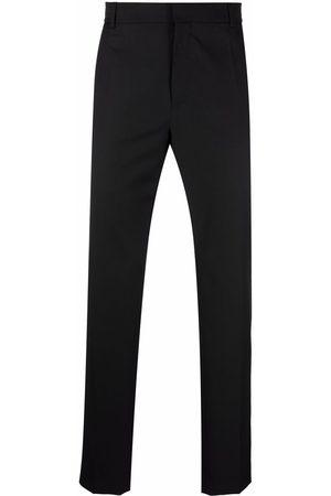 Balmain Men Formal Pants - Slim-cut tailored trousers